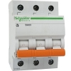Автоматический выключатель трехполюсный ВА63 C63