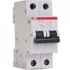 Автоматический выключатель двухполюсный ABB SH202L C63