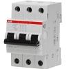 Автоматический выключатель трехполюсный ABB SH203L C63