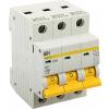 Автоматический выключатель 3 полюса 16А С ВА 47-29 4,5кА IEK