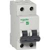 Автоматический выключатель 2п C25 Schneider Electric Easy9